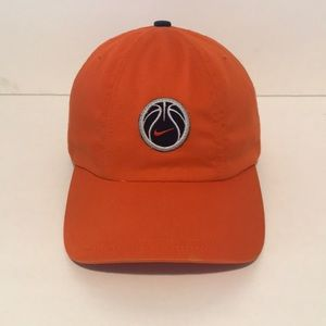 Nike Basketball hat cap in great condition orange